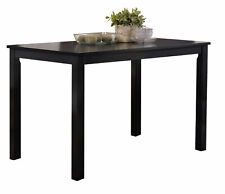 Kings Brand Furniture - Black Finish Wood Dining Room - Kitchen Table
