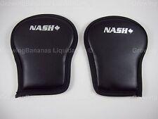 2 Nash Hockey Skates Leather Slash Guards! Sr, Shin Pad Lace Foot Wrist Guard