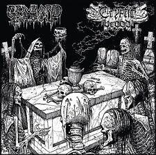 "GRAVEYARD GHOUL / CRYPTIC BROOD -split 12"" LP + Downloadcode (Autopsy, Nihilist)"