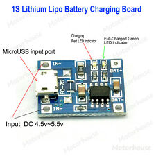 5V Micro USB 1A Lithium Li-ion 18650 Battery Charging Lipo Charger Module Board