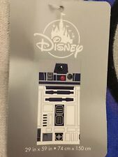 Disney Star Wars R2-D2 Beach Towel Bath Pool Swim New with tag