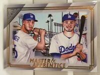 2020 Topps Gallery GAVIN LUX & CODY BELLINGER Master & Apprentice Rookie Dodgers