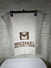 b192e6367070b Michael Kors Oatmeal Canvas Dust Cover Travel Storage Bag 22 x 22
