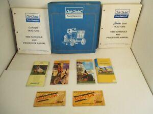 9 - Cub Cadet Tractors Procedure Service Training Manual Pocket Sales Guides L4