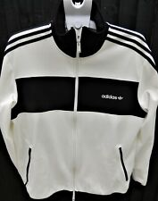 ADIDAS - Two Part Suit - Cream and Black- Trendy - Size XL  -Thames Hospice