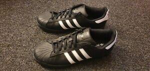Adidas Superstar Size 11 Black/white