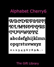 Alphabet Book Folding PATTERN~create your own folded book words~Cherry 6