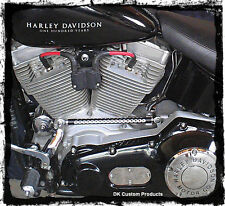Harley-Davidson 2003-Up EFI Softail Coil Relocation Plug-N-Play fuel injected