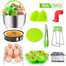 15pcs Instant Pot Accessories Set Compatible Instant Pressure Cooker Pot 6, 8Qt