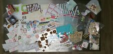 Large Lot Scrapbooking Journaling Embellishments New and Used