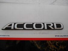 """1990 - 1993 Honda Accord Rear """"ACCORD"""" Emblem Chrome 75722-SM4-000 OEM CB7"""