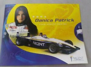Danica Patrick 2003 Team Argent Toyota Atlantic Hero Card