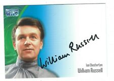 Doctor Who Series 3 Limited Edition William Russell Autograph Card AU7 Very Good