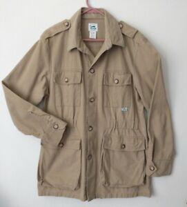 Vintage~Duxbak~Safari~Game~Shooting~Hunting~Jacket~USA Made~Sz M~Mens~Cotton~VTG