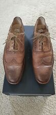 Paul Smith Brown Brogue / Tan Shoes UK . Not Ted Baker Churches Loakes Mint Cond