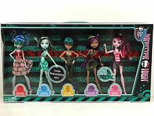 Monster High Doll Skull Shores 5 Pack Target Exclusive New in Box Retired