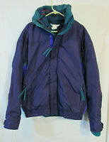 Vintage 90's Columbia Bugaboo 3-in-1 Aztec Fleece Nylon Parka Men's L MINT COND!