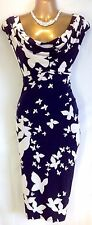 "PHASE EIGHT SIZE 14 ""BUTTERFLY""STUNNING DRESS RRP £99.00 NEW WITH TAGS"