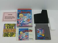 The Jetsons Cogwell's Caper Nintendo NES Game Complete in Box Tested 1 Owner USA