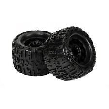 Trencher X 3.8 All Terrain Tires Mounted (2) Pro-Line RC Wheels/Rims 1184-13