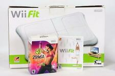 Wii Fit  Balance Board With Wii Fit Game and Zumba Fitness