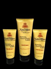 The Naked Bee Orange Blossom Honey Hand & Body Lotion 6.7 oz & 2.25 fl oz 3 Lot