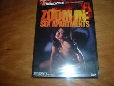Zoom In: Sex Apartments DVD NEW JAPAN HORROR NIKKATSU EROTICA GLOBAL SHIPPING