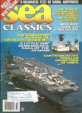 SEA CLASSICS V29 N9 USN AIRPOWER VIETNAM / WW2 MURMANSK RUN CONVOY / SUISUN BAY