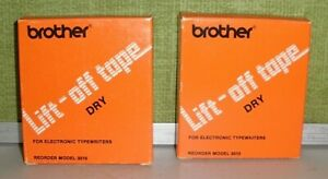 VINTAGE BROTHER LIFT-OFF TAPE DRY FOR ELECTRONIC TYPEWRITERS-REORDER MODEL 3015