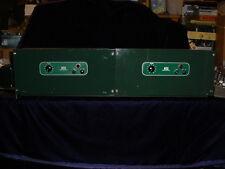 Pair of Altec 1569A Theater EL34 Tube Amplifiers (Western Electric Era) Peerless