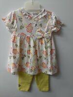 vêtement ensemble bebe 6 mois fille robe pantalon