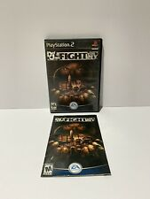 Def Jam : Fight For NY black label PS2 Case and Manual Only No Game