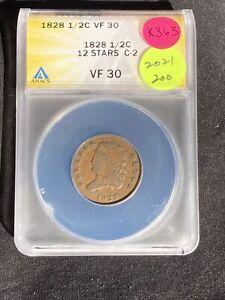 1828 Half Cent K363