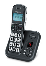 Emporia Cordless Phone with big buttons.Extra loud & HAC. & Answer Machine