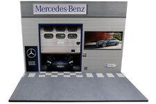 Diorama garage Mercedes-Benz - 1/18ème - #18-2-F-F-003