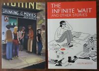 Drinking at the Movies + Infinite Wait Julia Wertz 2010 2012 Graphic Novel TPB