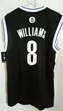 Adidas NBA Jersey Nets Deron Williams Black sz L