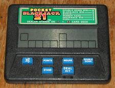 RADICA POCKET BLACKJACK 21 Model 1350