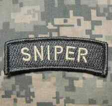 SNIPER TAB US ARMY MILITARY BADGE INFIDEL ACU LIGHT VELCRO® BRAND FASTENER PATCH