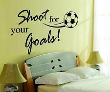 Football English sentence Home Decor Removable Wall Sticker/Decal/Decoration