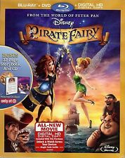 The Pirate Fairy (Blu-ray + DVD + HD Copy) ONLY at Target w/Storybook & CD; Slip
