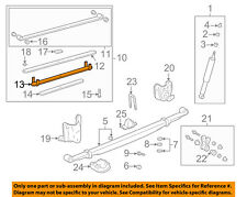 TOYOTA OEM 2004 Tundra Rear-Leaf Spring Right 48204AF070