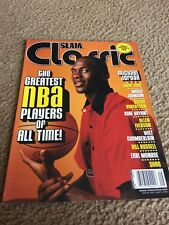 Slam Classic Vintage Michael Jordan Rookie Cover. Top 100 Players of all time.