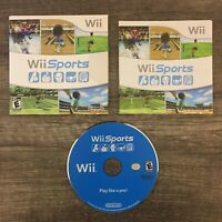 Wii Sports Nintendo Wii FREE SHIPPING Complete In Box CIB Game Disc Case Manual