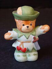 Lucy & Me Enesco Bear ~ ROBIN HOOD ~ Porcelain Figurine
