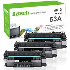 3PK Toner Compatible for 53A Q7553A Canon LBP3300 HP LaserJet 1160 P2014 1320n