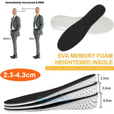 2.3-4.3CM Men Shoe Lift Insole Air Cushion Heel insert Increase Taller Height US