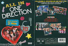 One Direction. All In (2013) Box 3 DVD NUOVO Louis Tomlinson, Liam Payne, Harry