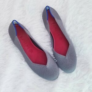 Rothy's Ballet Flats in Grey Size 10