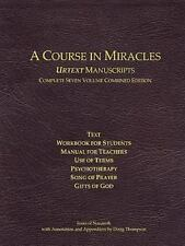 Course in Miracles Urtext Manuscripts Complete Seven Volume Combined Edition